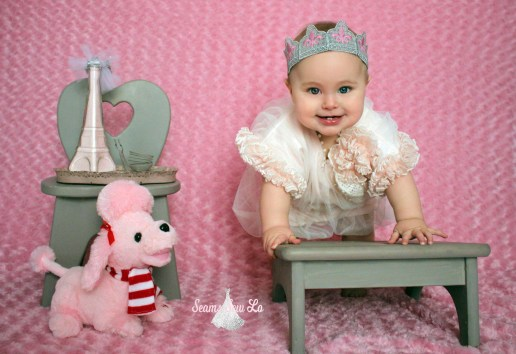 lace crown pink valentines picture
