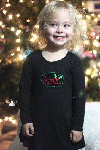 merry christmas embroidery design christmas sweetie tunic