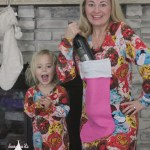 wine nightgown mommy and me nightgown pajamas pjs sewing pattern