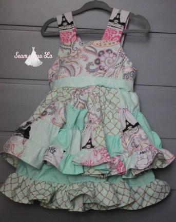 Sierra dress sewing pattern