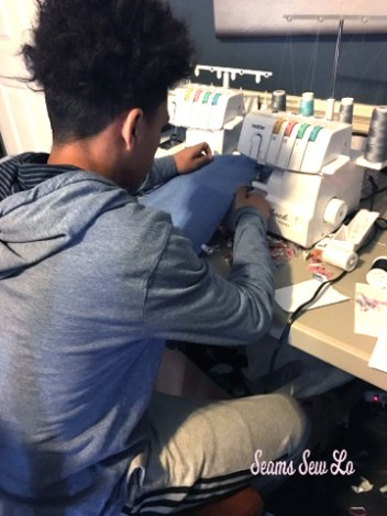 learning to sew with a serger