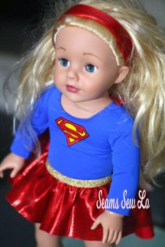 super girl madame alexandre doll 18 inch