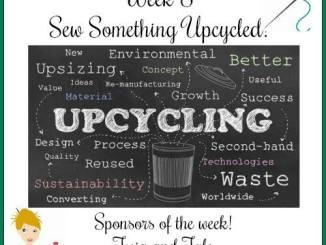 52 Week Sewing Challenge Sew Something Upcycled Week #8