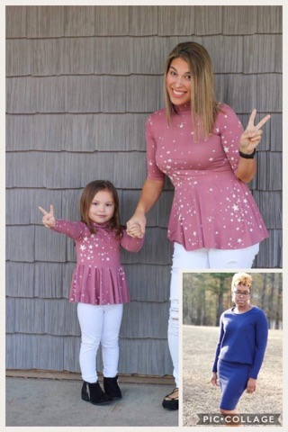 mommy and me sewing pattern release top or dress petite stitchery