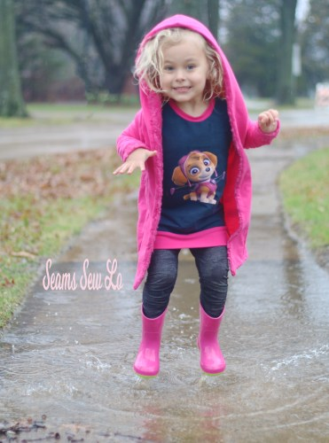 Skye Paw Patrol Shirt in Pink and Navy