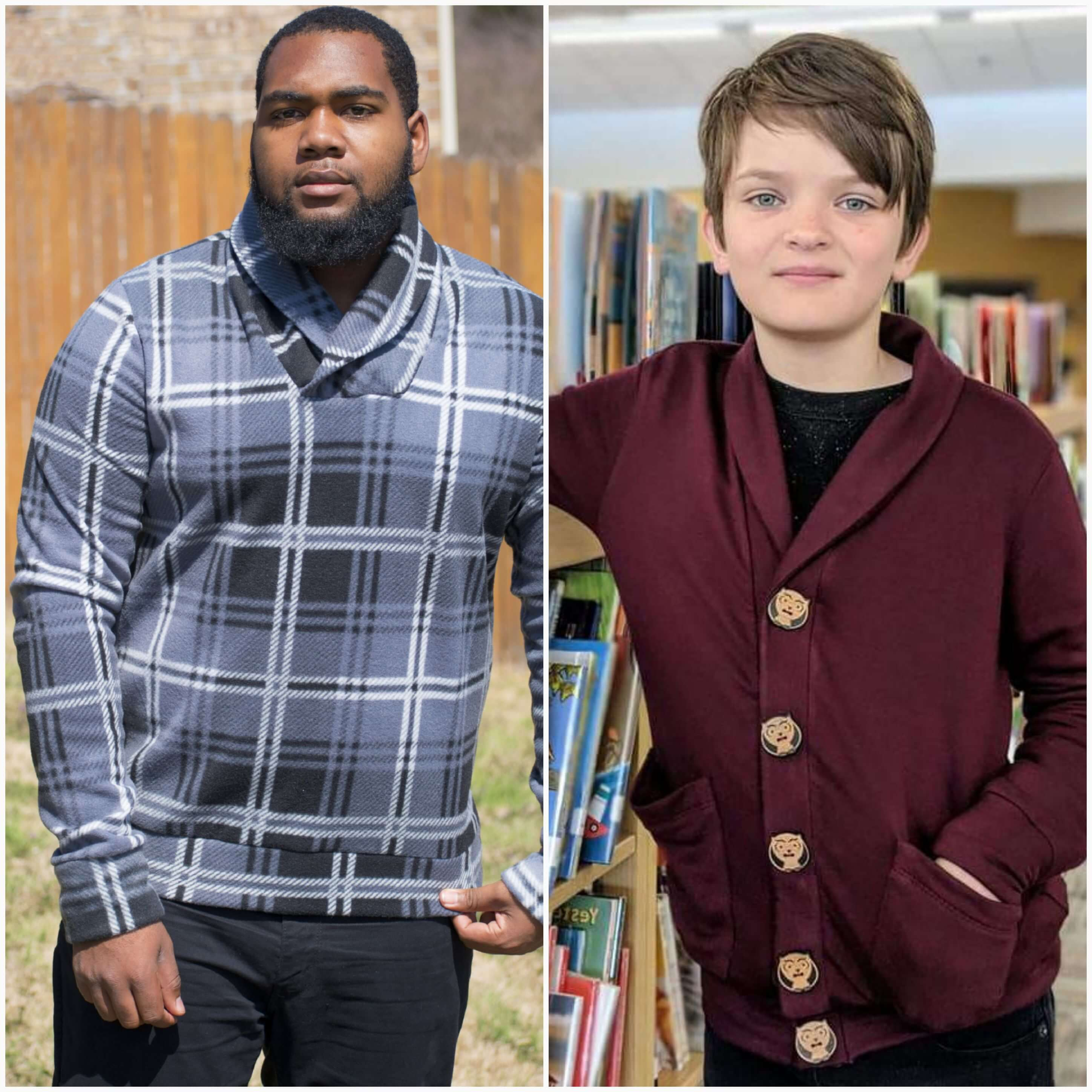 Mens Yorkshire Cardigan Sewing Pattern Release