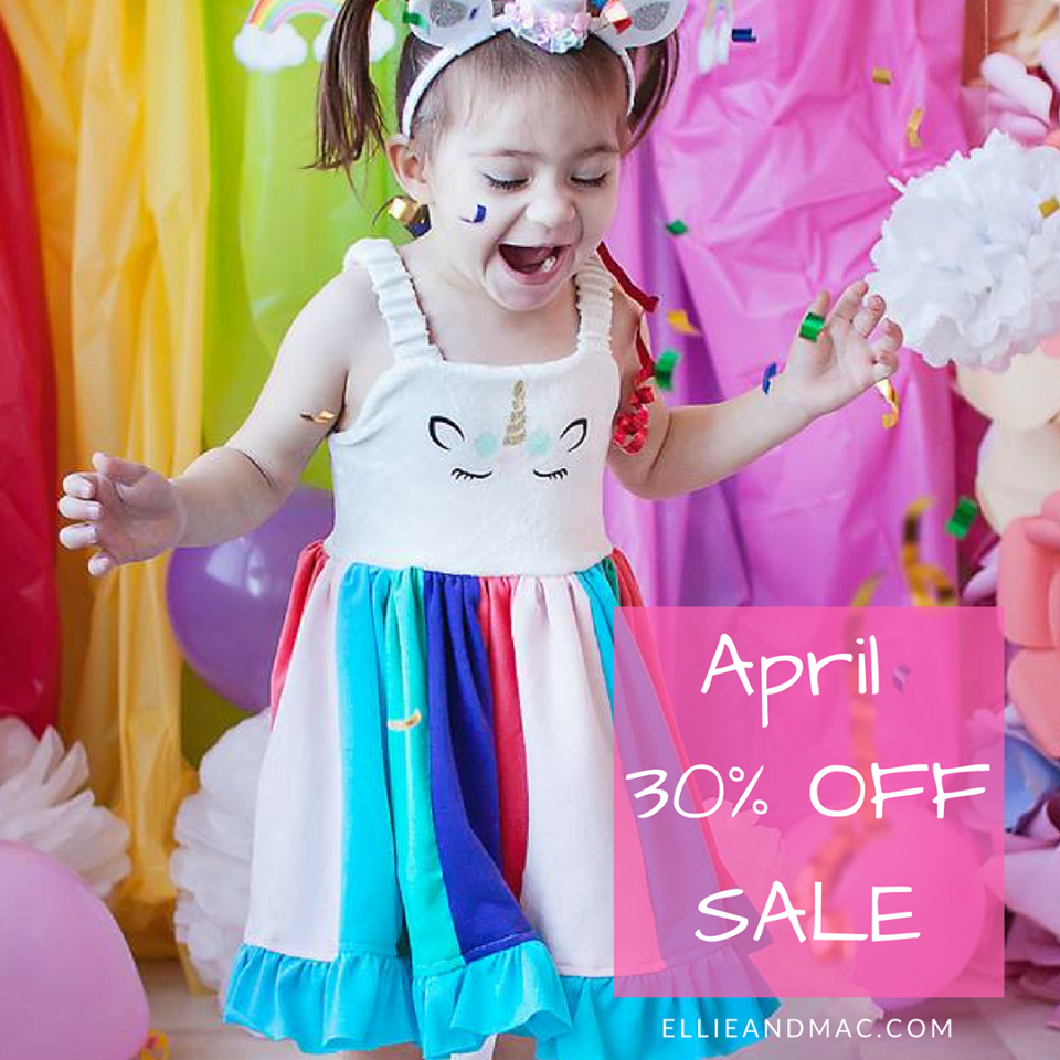 Ellie and Mac Sewing Patterns 30% off sale