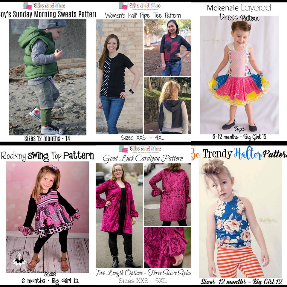 Wacky Wednesday $1 pattern sale ellie mac 02_25