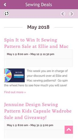 Find the Best Sewing Deals in the Seams Sew Lo Sewing App