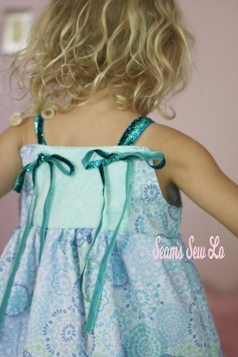 Firecracker Dress Girls Sewing Pattern 1