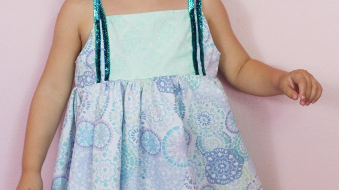 Firecracker Dress Girls Sewing Pattern 3