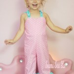 Girls Ruffled Romper Sewing Pattern Only $1 Be Outstanding by Ellie and Mac