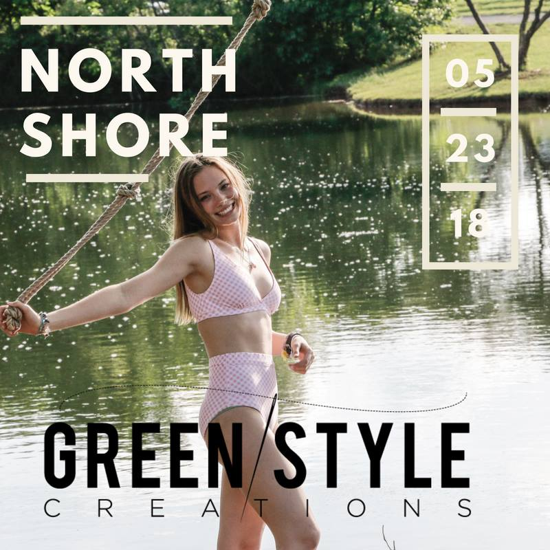 North Shore Women's Swimsuit Sewing Pattern Release by Greenstyle Creations