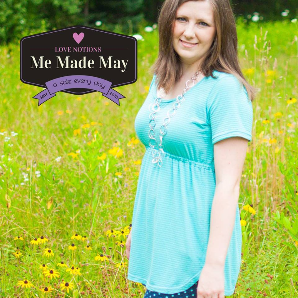 Pemberley Tunic & Dress Me Made May Sale by Love Notions