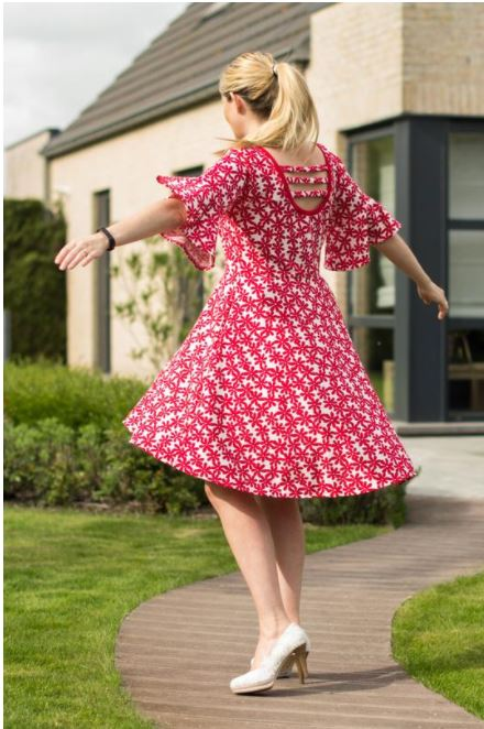 Tamara Dress Sewing Pattern by Annelaine Release and Sale