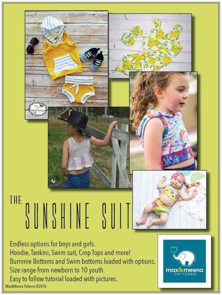The Sunshine Suit Sewing Pattern by Max and Meena