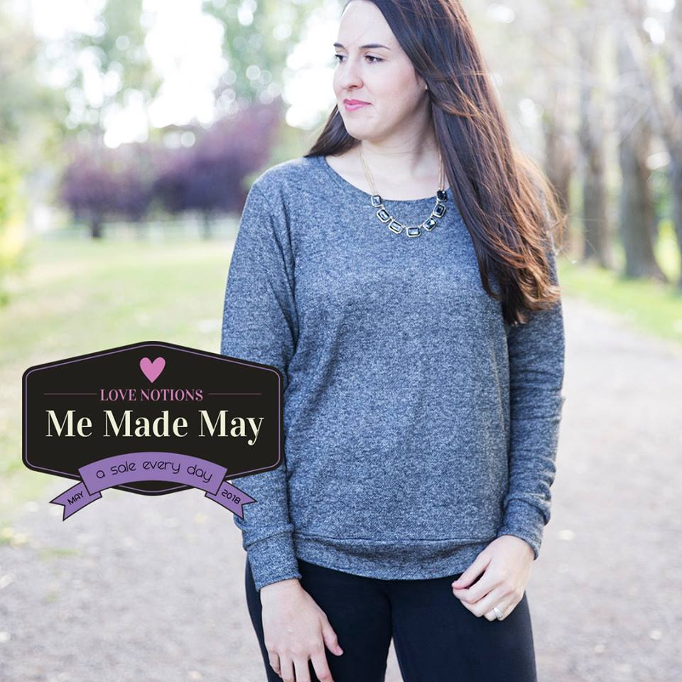 Women's Sloane Sweater Sewing Pattern One Day Sale at Love Notions