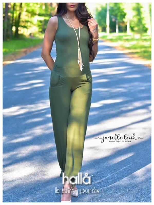 Halla Sewing Patterns 20% Site Wide Sale for the release of the Knotty Pants sewing pattern