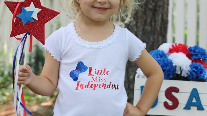 Little Miss Independent SVG Cut File