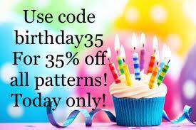 Max and Meena Sewing Patterns Birthday Sale
