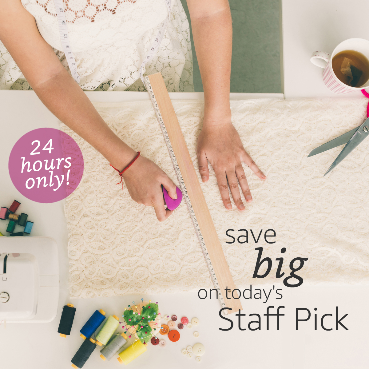 Fabric.com Staff Pick Tuesday Fabric Sale