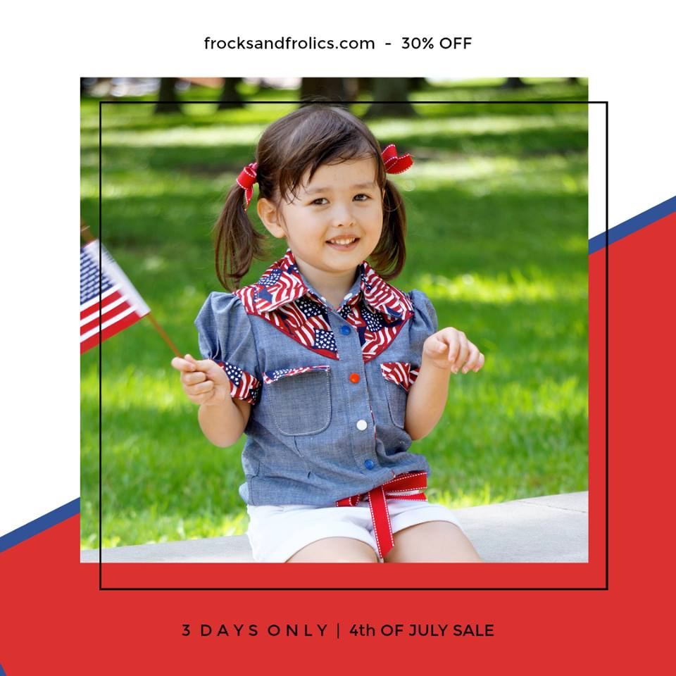 Frocks & Frolics 4th of July Sewing Pattern Sale