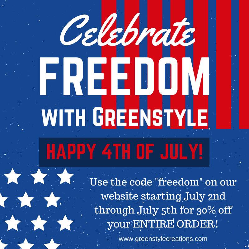 Greenstyle Creations 4th of July Sewing Pattern Sale