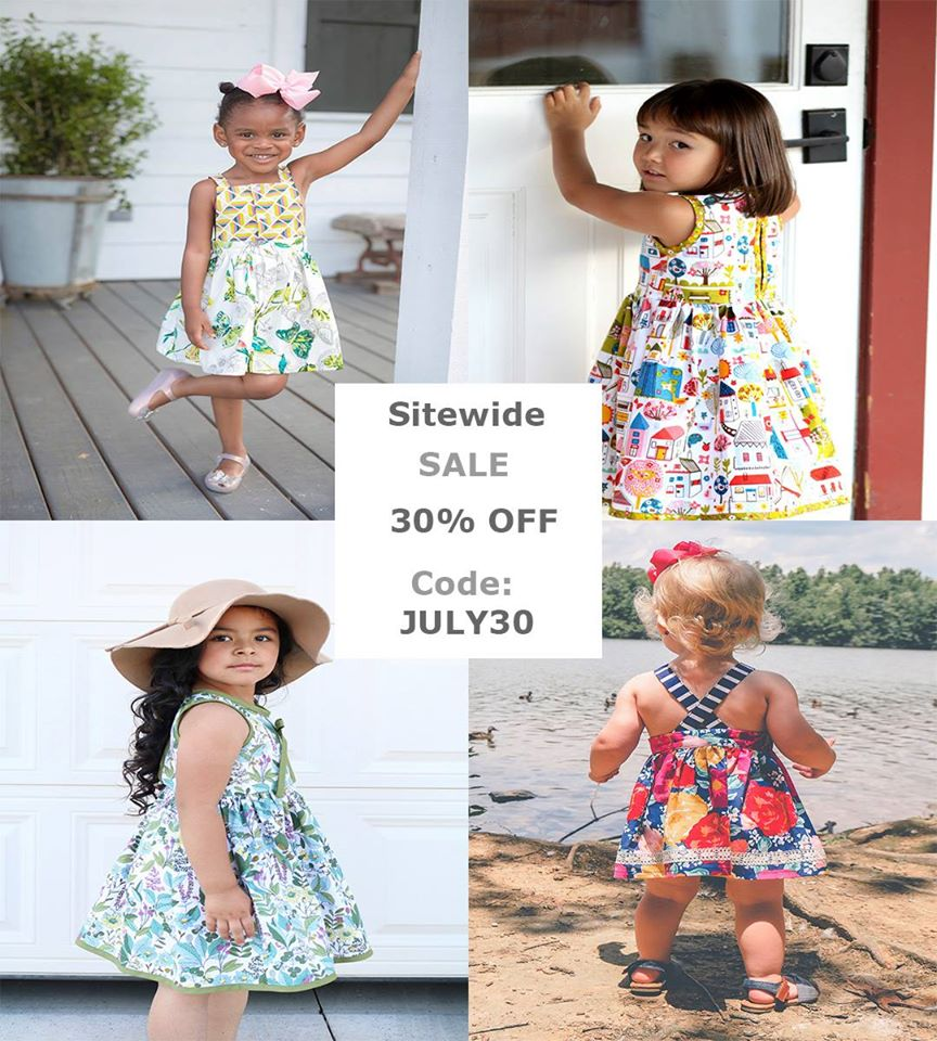 Little Lizard King 4th of July Sewing Pattern Sale