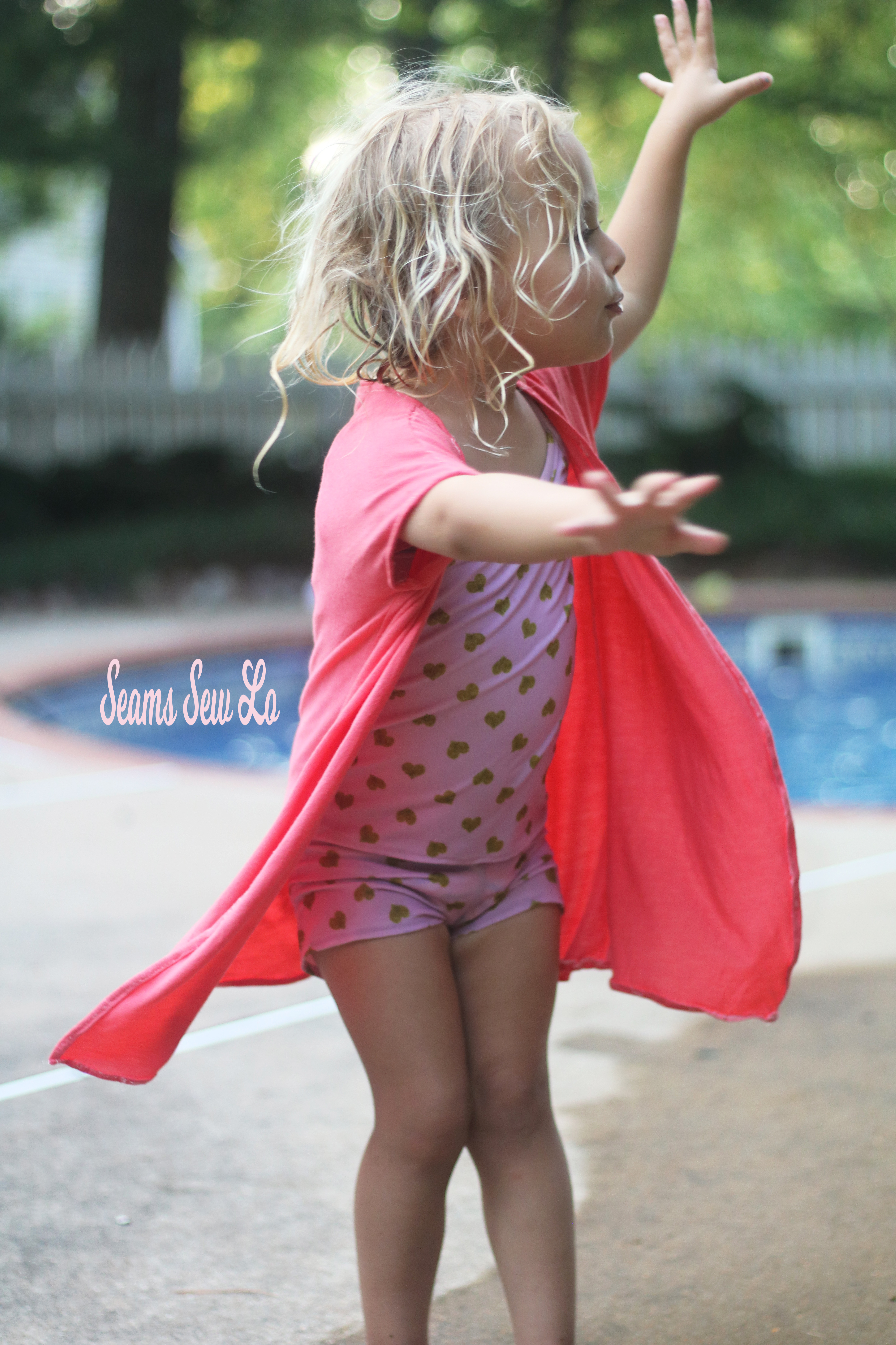 499c18d7fa Made for Mermaids Girls Lola Swimsuit Cover Up Sewing Pattern ...