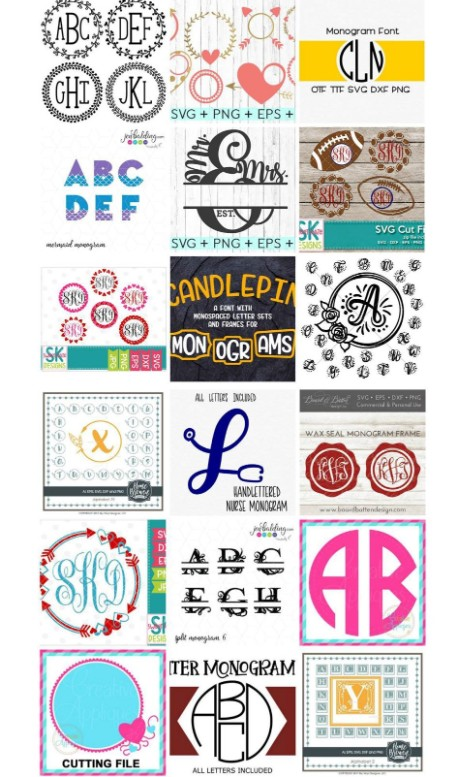 Mega Monogram Bundle Sale!