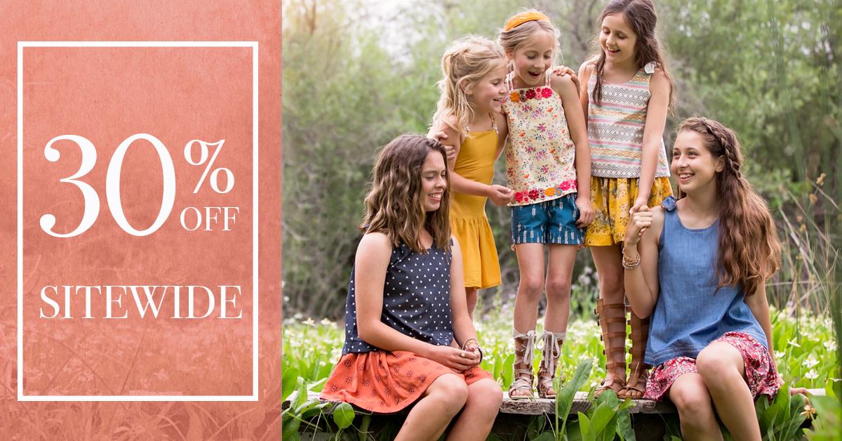 Violette Fields Threads Summer Sewing Pattern Sale