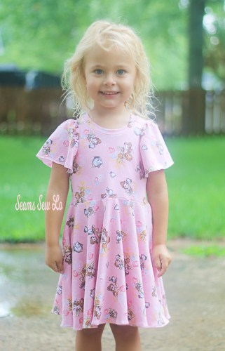Back to School Dress Sewing Pattern School is Cool