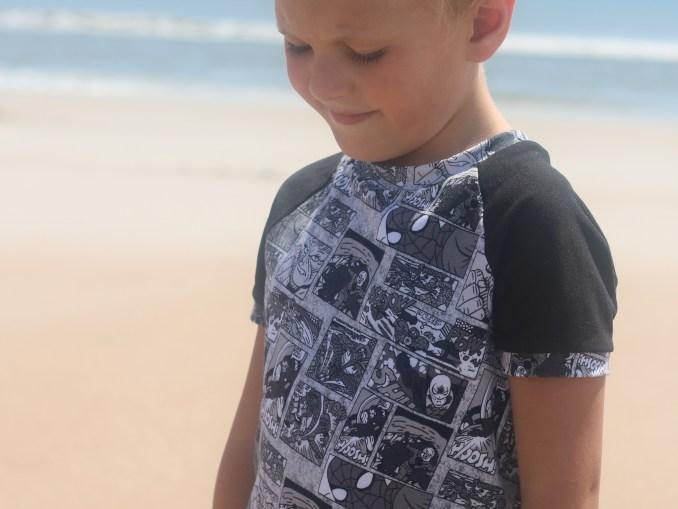 Boys Ringer Raglan Sewing Pattern