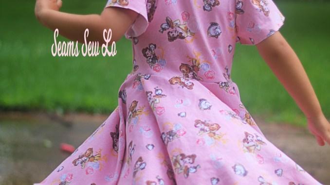 School is Cool Dress Sewing Pattern - Seams Sew Lo