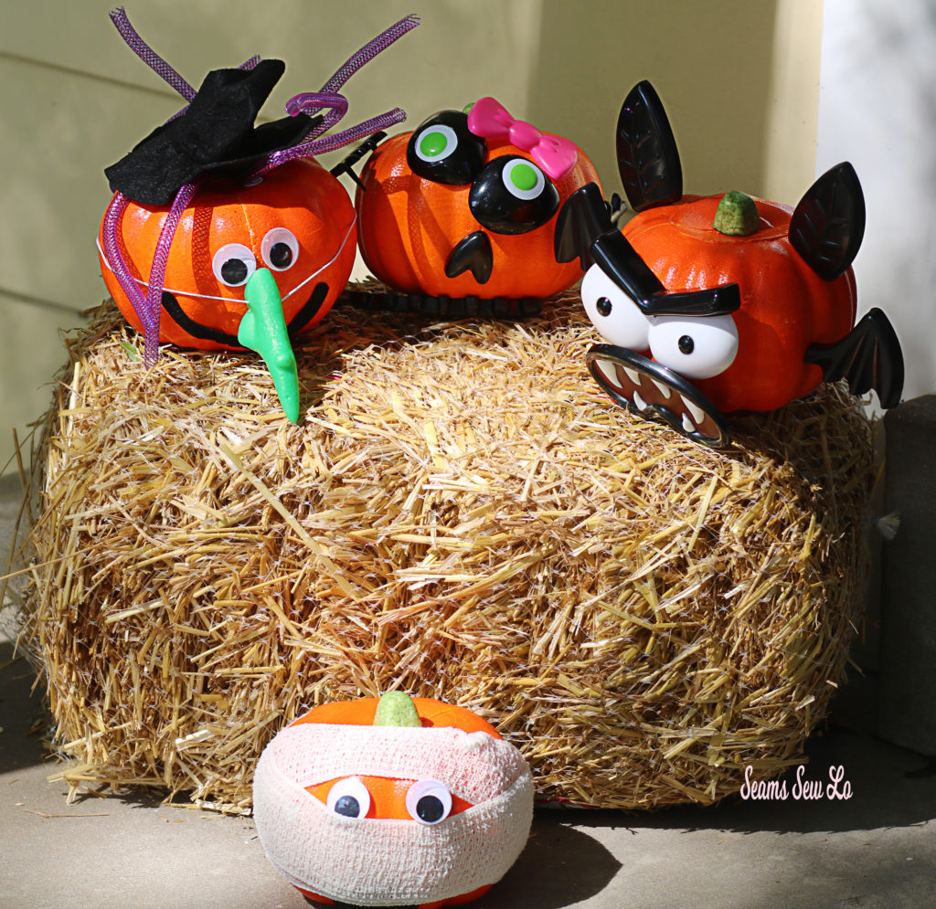 Easy Pumpkin Decorating Kits For Kids And Toddlers From