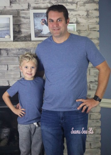 Father and Son Matching Shirts Sewing Pattern