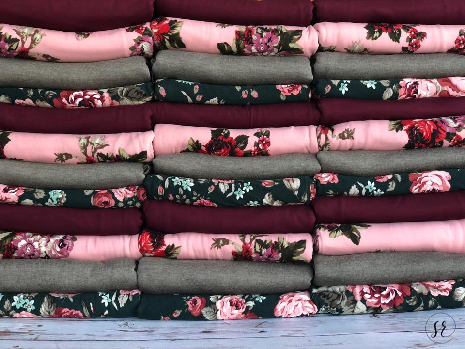 Retail compliant french terry Fabric and unmystery boxes by Sincerely Rylee