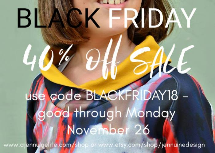 A Jennuine Life Black Friday Sale