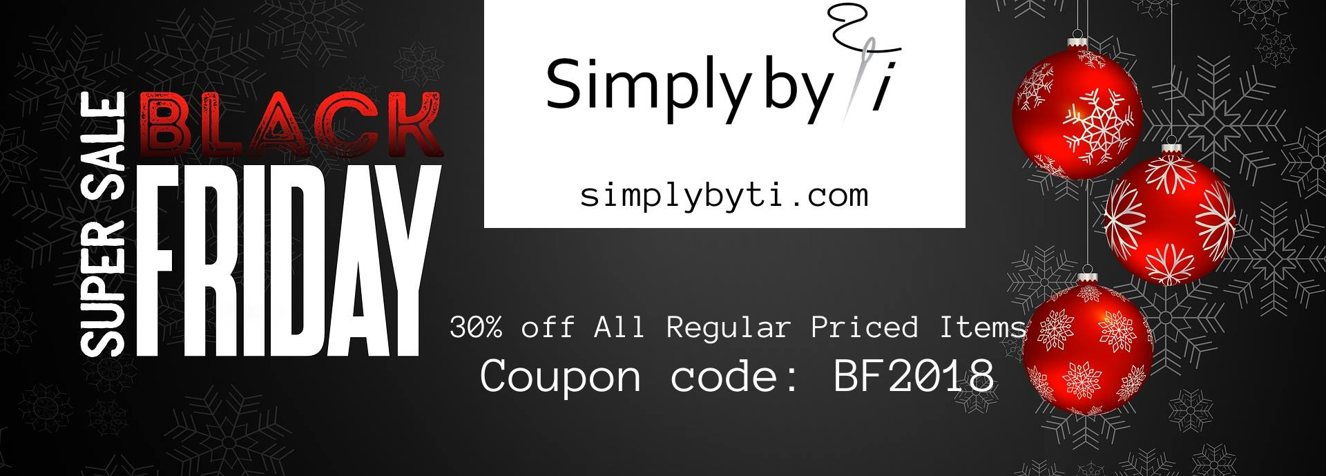 Simply By Ti Fabrics Black Friday Sale