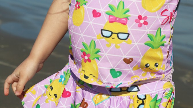Pineapple Swim Fabric Preorder