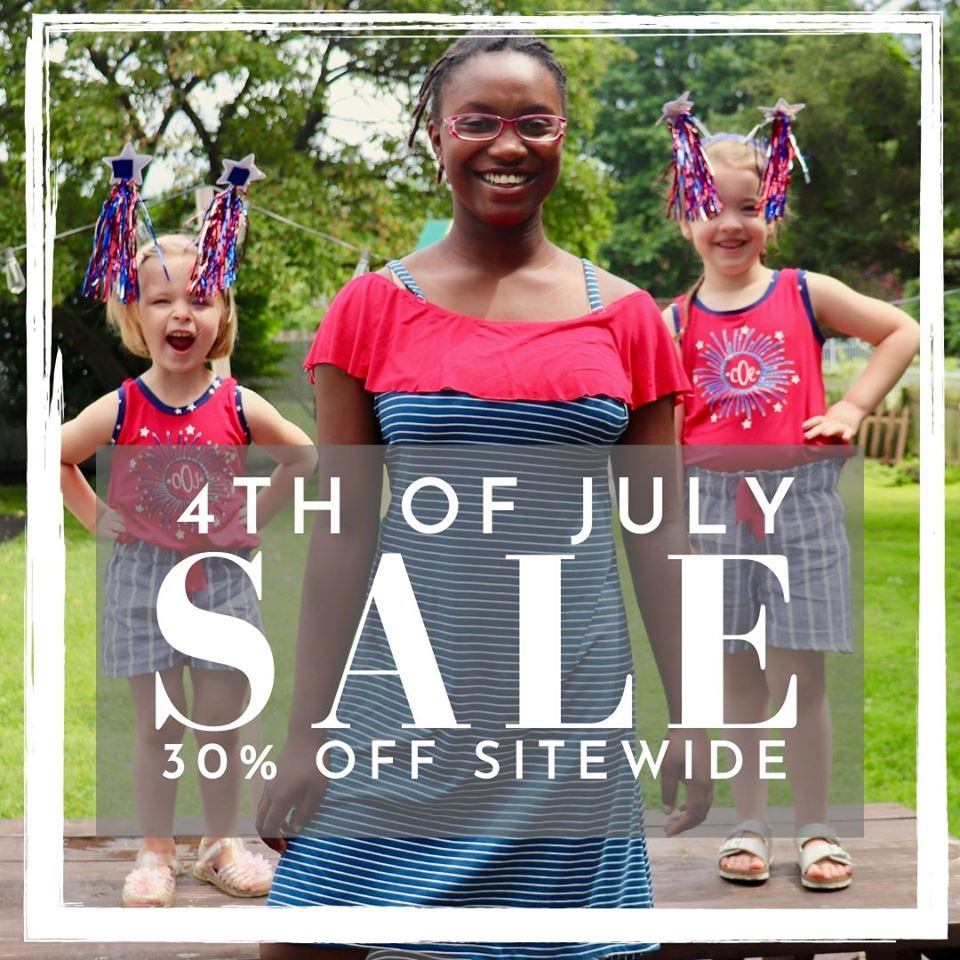 5 out of 4 Sewing Patterns 4th of July Sale