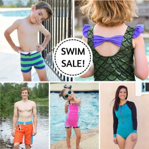 Peek A Boo Swim Suit Sewing Patterns Sale