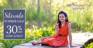 Violette Fields Sewing Patterns Summer Sale
