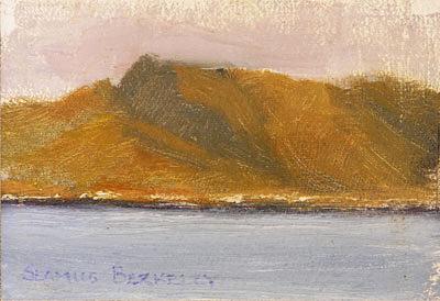 Dusk Waterville Painting Seamus Berkeley