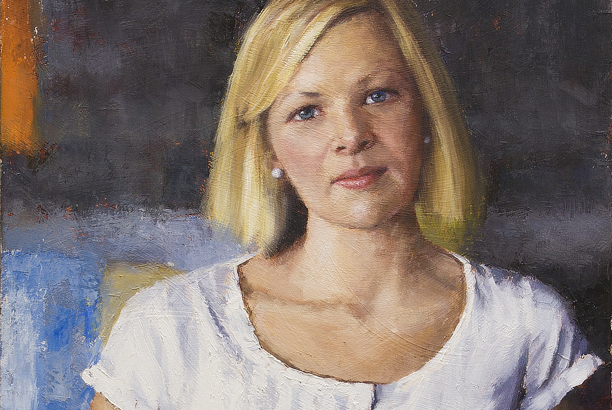 Berkeley Fife Feature Portrait Painting Seamus Berkeley
