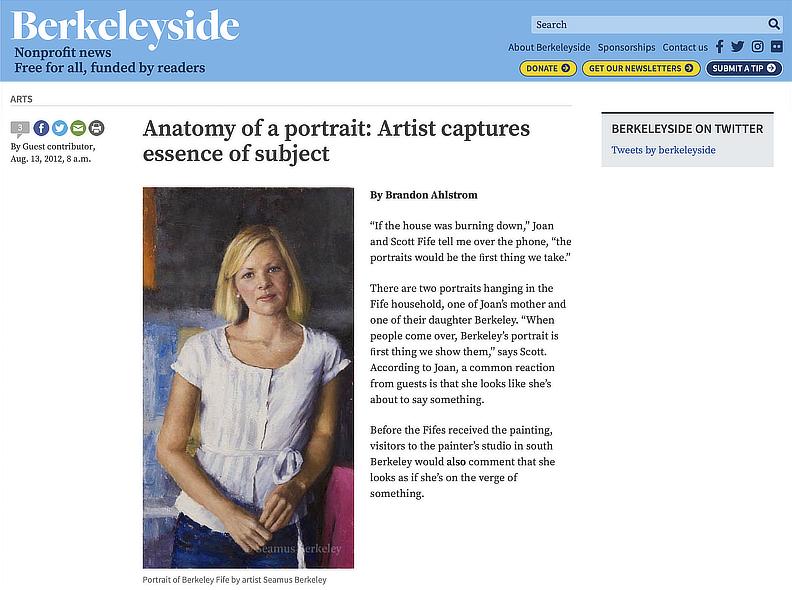 Anatomy of a Portrait Artist Feature Seamus Berkeley