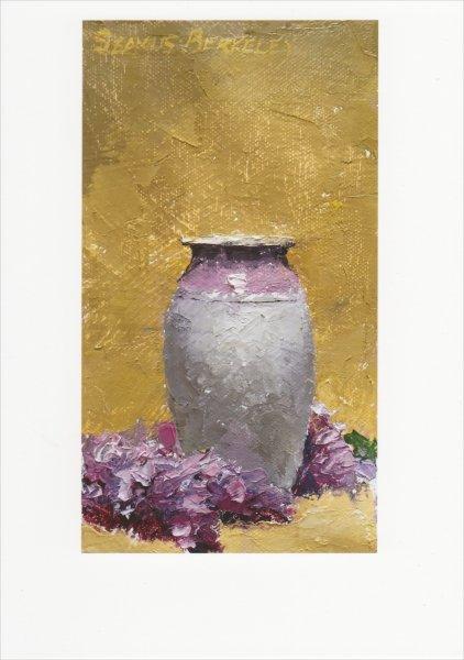 Lilacs-Lavendar-Vase-Front-Painting-Seamus-Berkeley.