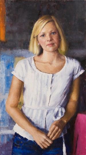 Berkeley Fife Portrait Painting Seamus Berkeley