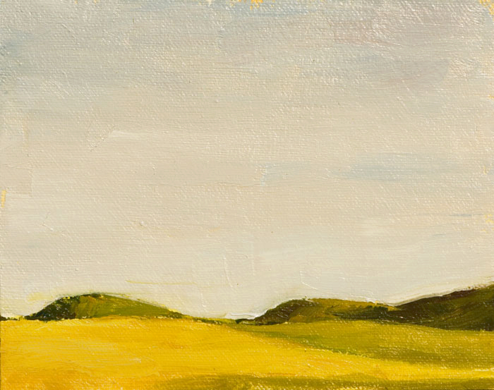 Big Sky Point Reyes Painting Seamus Berkeley