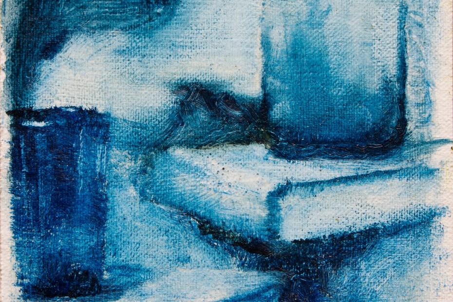 Blues Painting Seamus Berkeley